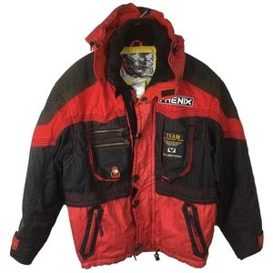 Phenix Factory Team Alpine Racing Snow Jacket Vntg